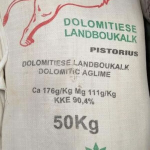 Agricultural Lime dolomitic, natural Calcium & magnesium reduces acidity