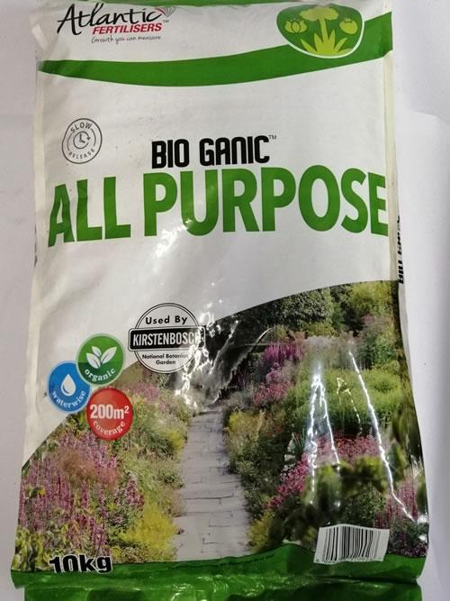 Atlantic fertilizer bio organic all purpose 10kg