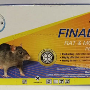 Bayer Finale Rat & Mouse pelletes 50g