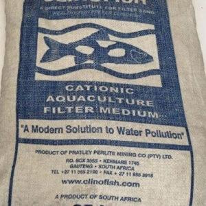 Clinofish cationic aquaculture filter medium 25kg
