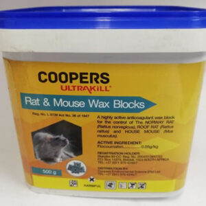 Coopers rat & mouse blocks 500gm