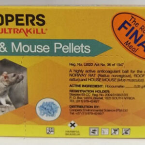 Coopers rat & mouse pellets