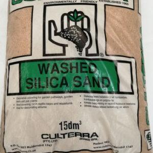 Culterra washed silica sand 15DM