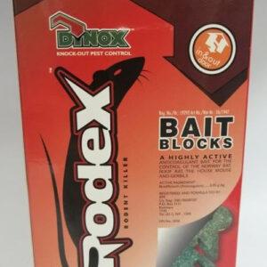 Efekto rodex bait blocks 500g