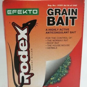 Efekto rodex bait blocks 100g