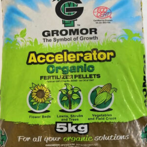 Gromor accelerator orhanic pellet fertilizer 5kg