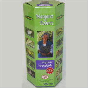 Margaret Roberts organic insect control