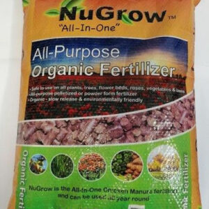 NU-Grow all purpose organic fertilizer