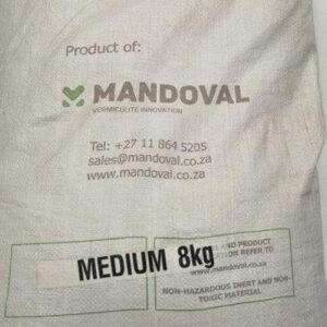 Vermiculite medium 8kg sterile