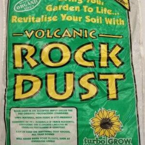 Volcanic rock dust 2.5DM organic fertilizer