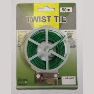 Twisty Ties green