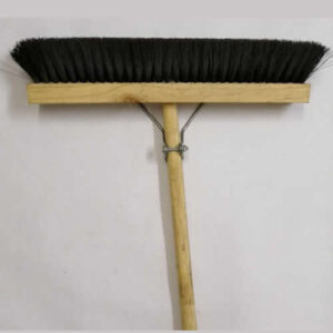 broom, black bristle