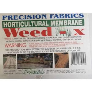 Weed-X, weedguard