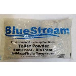 Blue Stream Pit Toilet sanitizer