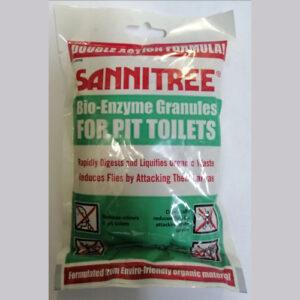 Sannitree bio-enzyme for pit toilets